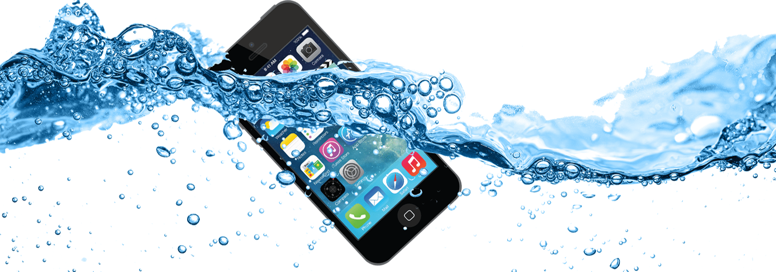 Waterschade reparatie aan smartphone of iPad