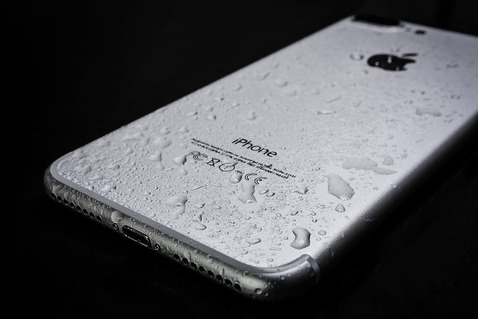 iphone 7 waterschade nat