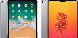 iPad Pro met Face ID Mock-up